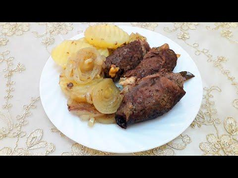Блюдо из мяса в духовке / Meat dish in the oven