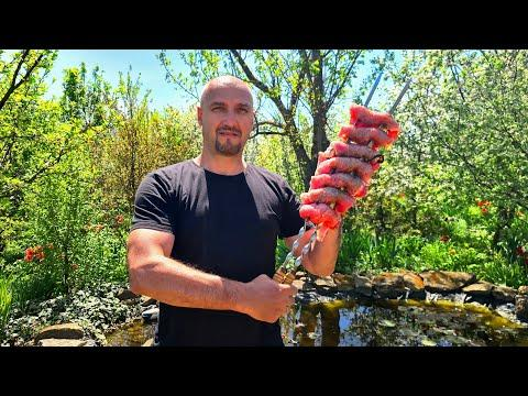 Barbecue. Delicious recipe from Pora Poest channel. ENG SUB