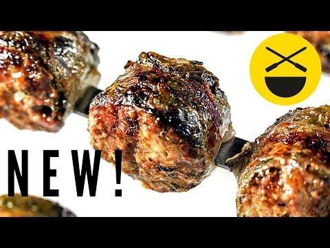 ДОЛМА-КЕБАБ ||| новое азербайджанское блюдо Сталика Ханкишиева на мангале ||| Для АзТВ