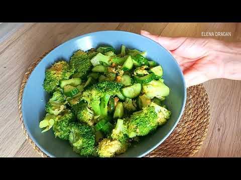 САЛАТ ИЗ БРОККОЛИ. Как вкусно, быстро приготовить брокколи. Delicious broccoli salad   Easy recipe