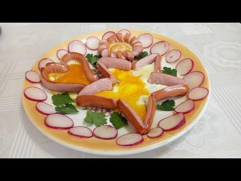 Три завтрака -  идеи приготовления яиц !