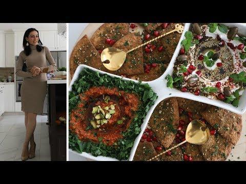 Две Закуски Для Праздничного Стола - Ливанская Кухня - Рецепт от Эгине- Heghineh Cooking Show