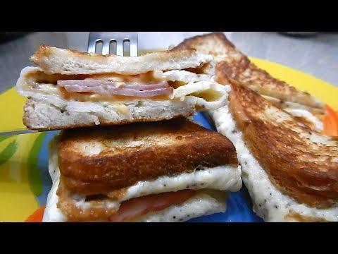 Горячие бутерброды за 5 минут, от которых ваши близкие будут в восторге.