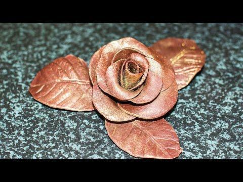 Как Сделать Шоколадную Розу для Декора Торта. Пластичный Шоколад для Лепки Цветов ✧ Ирина Кукинг
