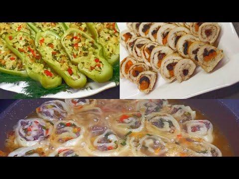 Самые простые и вкусные БЛЮДА из заготовленых ПОЛУФАБРИКАТОВ.//Кулинария для начинающих.