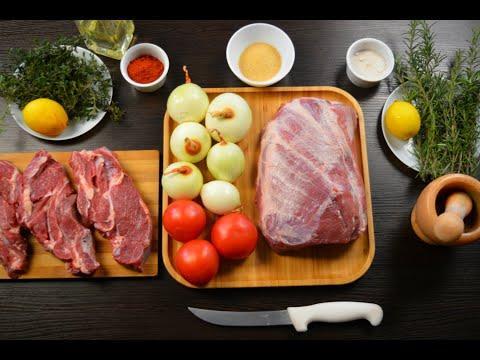 ШАШЛЫК из свиной шеи! Как правильно приготовить Очень сочный шашлык из свиной шейки.