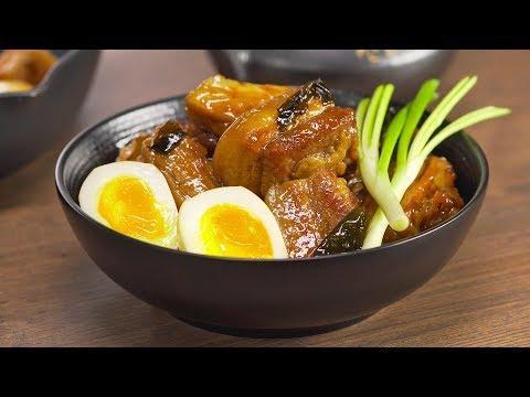 КАКУНИ / KAKUNI - нежнейшая тушеная свиная грудинка по-японски. Рецепт от Всегда Вкусно!
