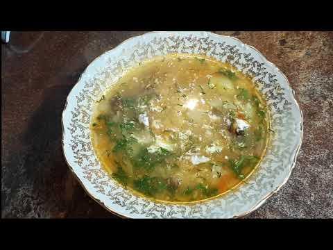 Рассольник  - очень сытный и густой суп!