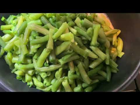 Стручковая фасоль по Армянски /вкусный и полезный рецепт / легкий супер гарнир ко всему / просто
