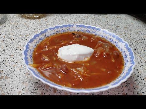 Томатный суп с фасолью и рисом. Готовим вкусные блюда в Пост.
