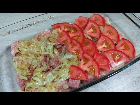 Выкладываю На Мясо Овощи и Запекаю в Духовке / Отличная идея для обеда или ужина!