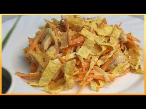 Не думал, что САЛАТ может быть на столько прост! Рецепт салата из простых продуктов!